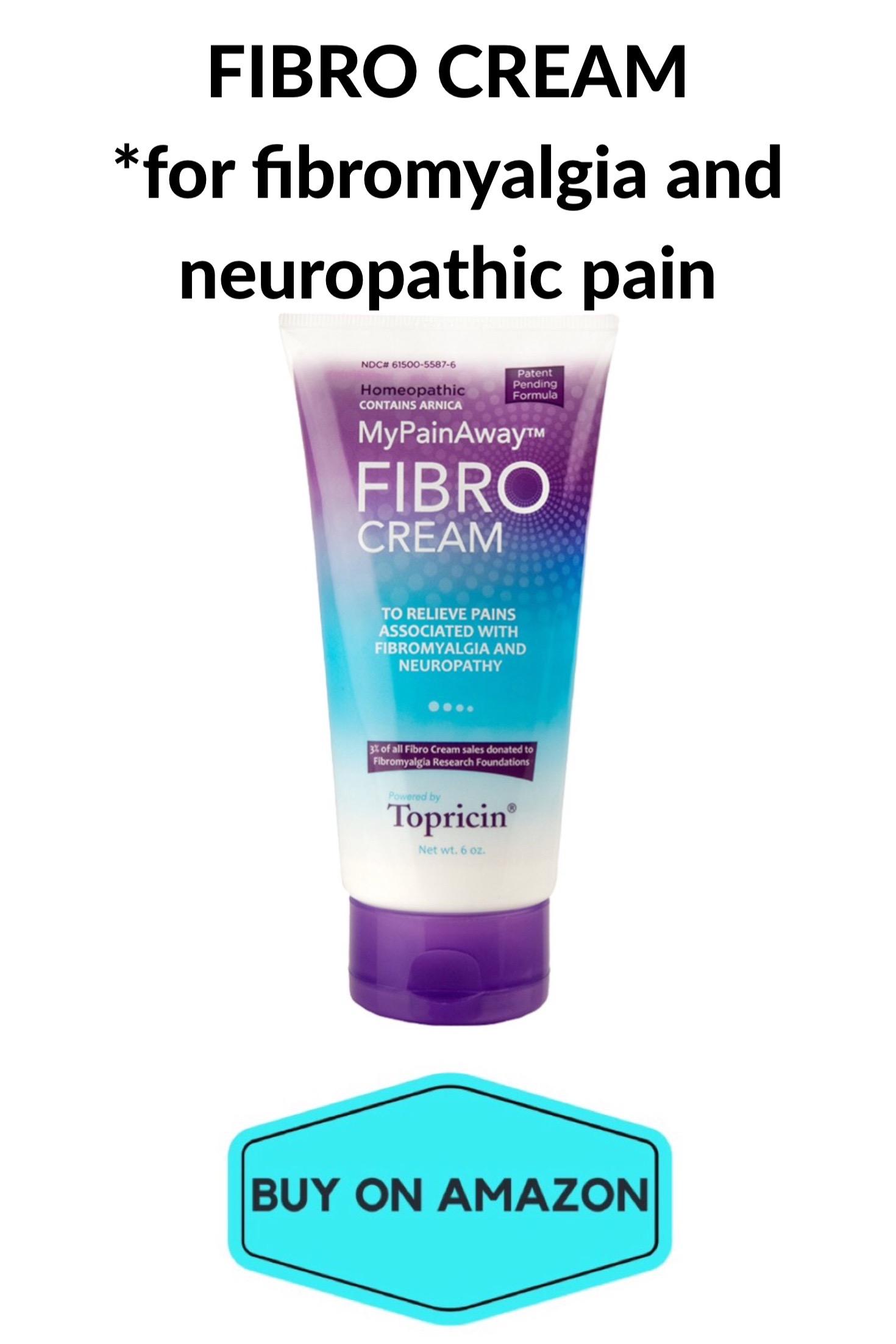 FIBRO CREAM For Fibromyalgia and Neuropathic Pain