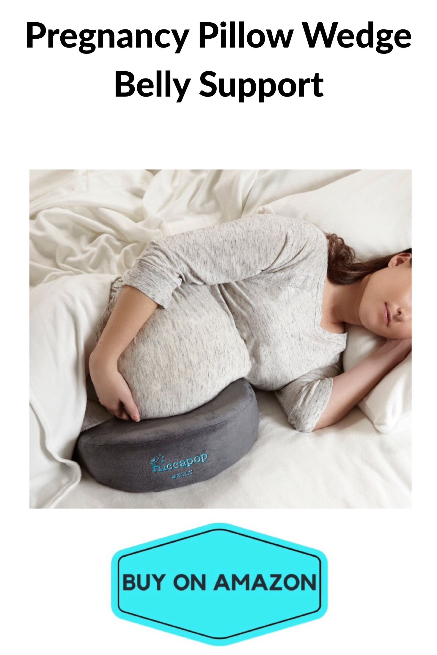 Pregnancy Pillow Wedge Belly Support
