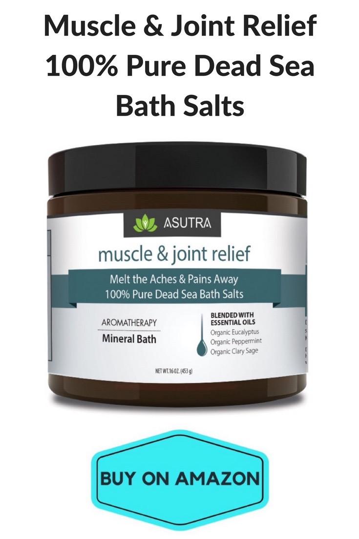 Muscle & Joint Relief 100% Dead Sea Bath Salts