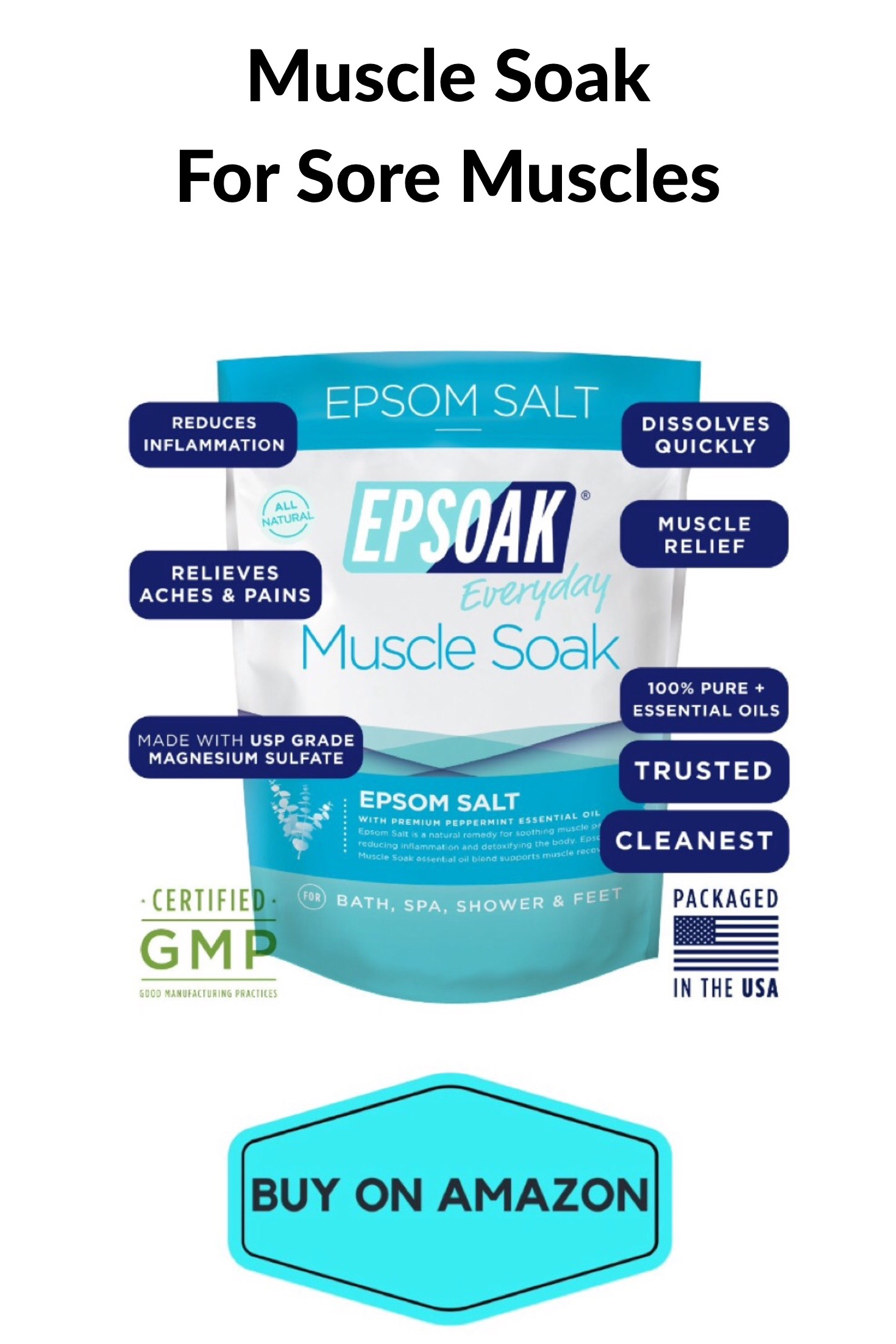 Muscle Soak For Sore Muscles