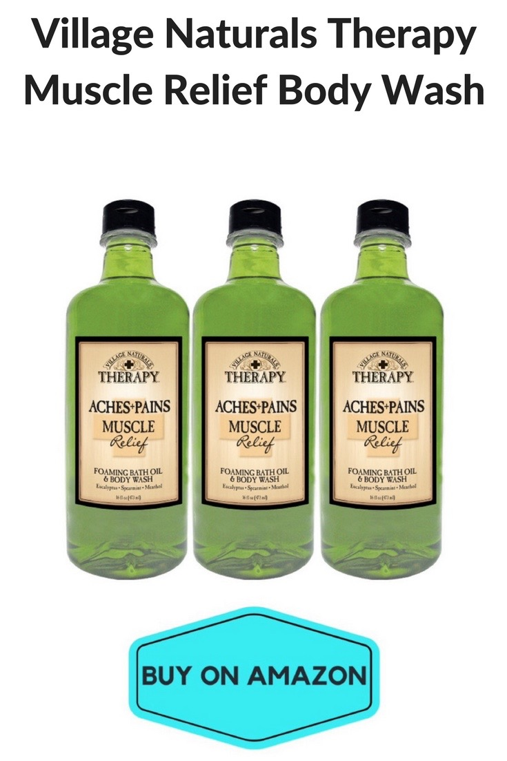 Village Naturals Therapy Muscle Relief Body Wash