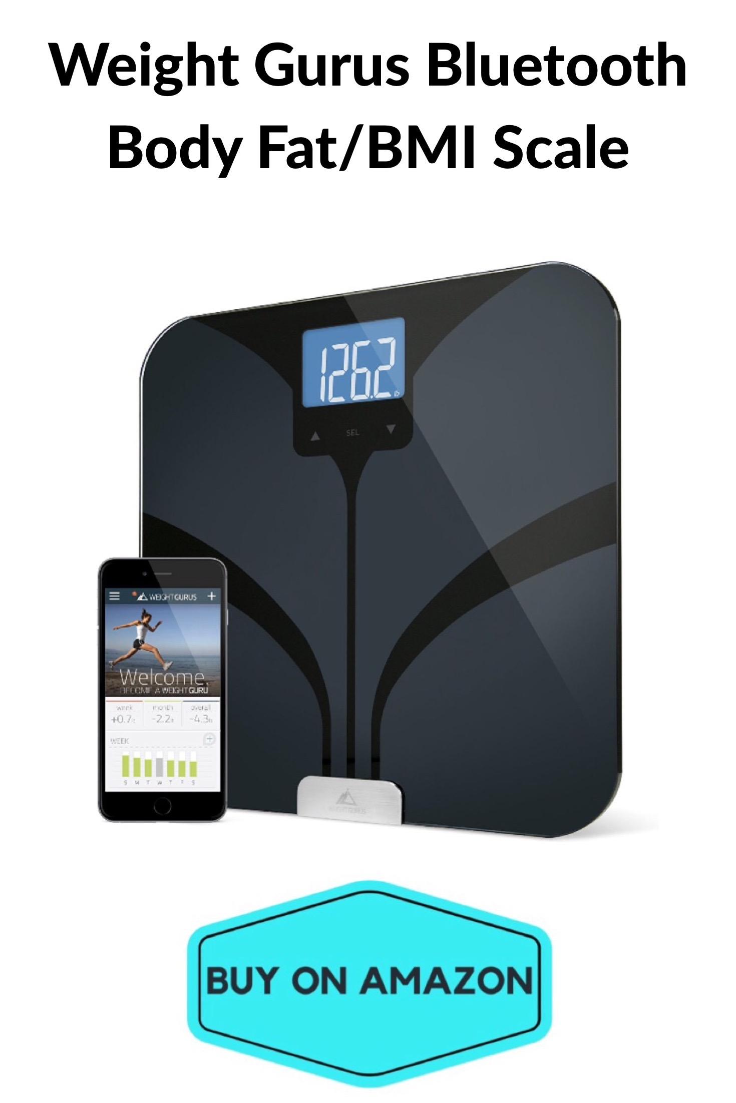 Weight Gurus Bluetooth Body Fat/BMI Scale
