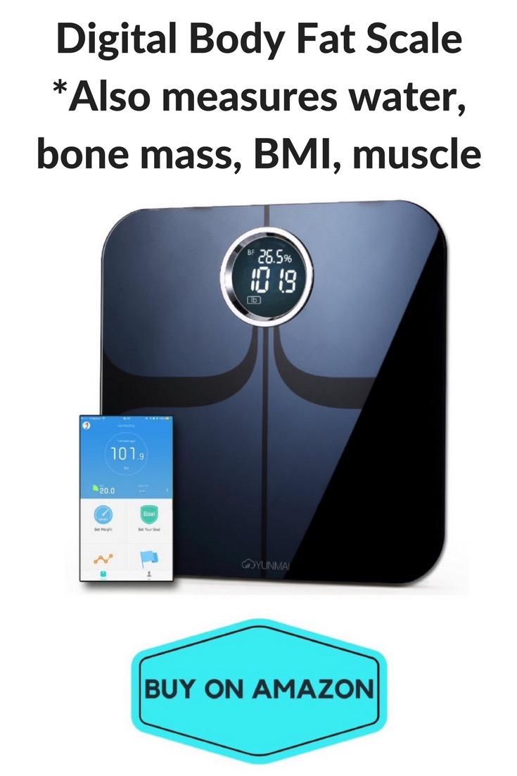 Digital Body Fat Scale, BMI, Bone Mass
