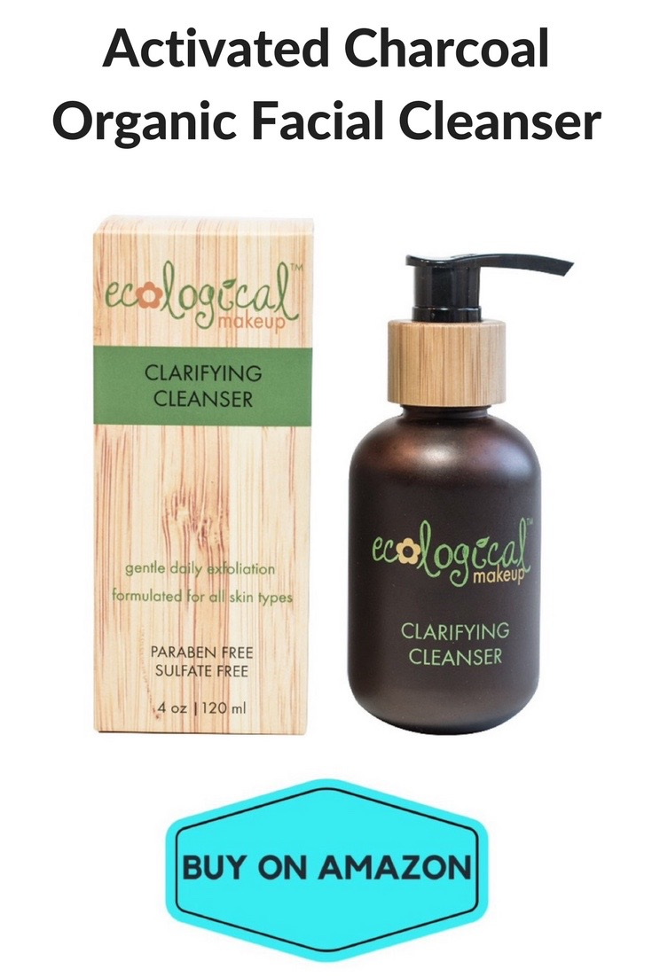 Activated Charcoal Organic Facial Cleanser