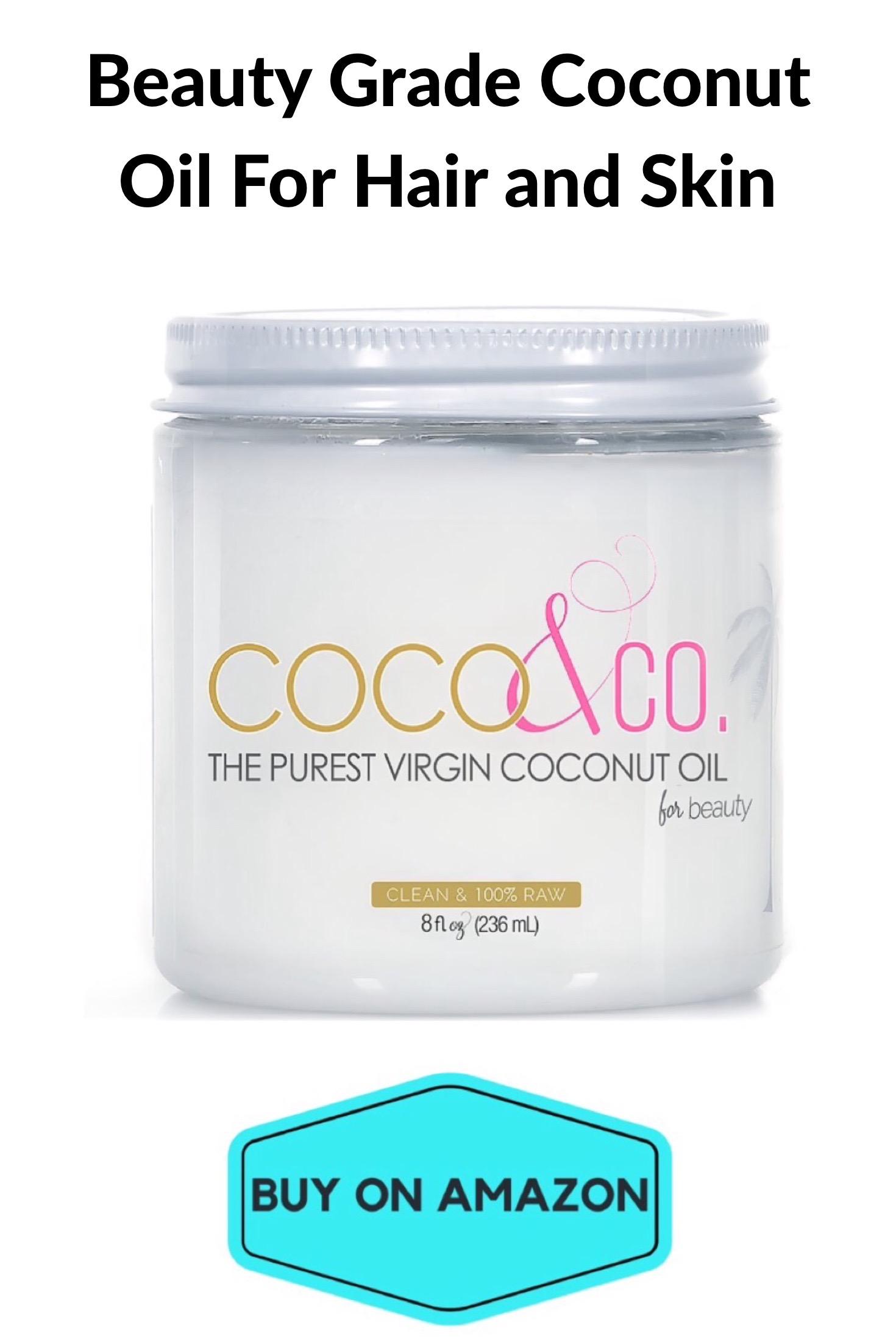 Beauty Grade Coconut Oil