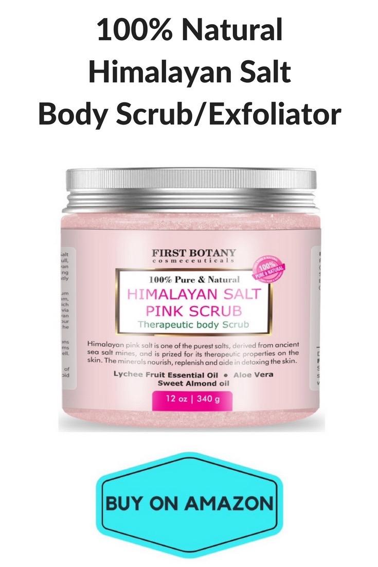 100% Natural Himalayan Salt Body Scrub/Exfoliator