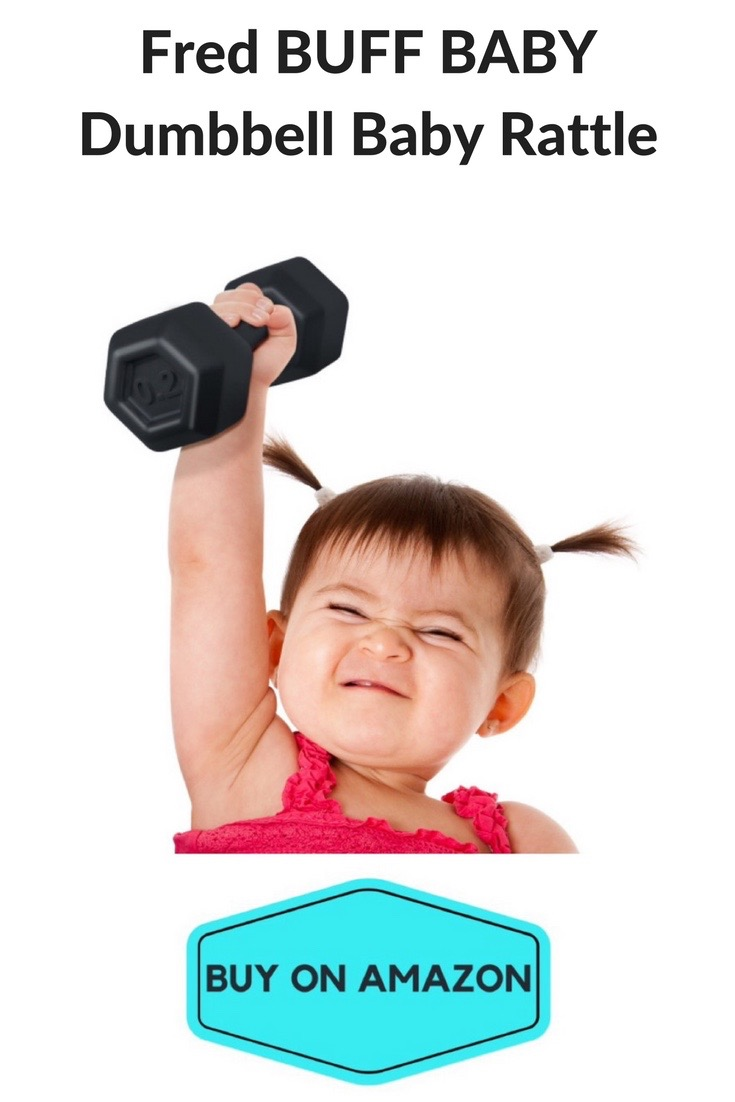Fred BABY BUFF Dumbbell Rattle
