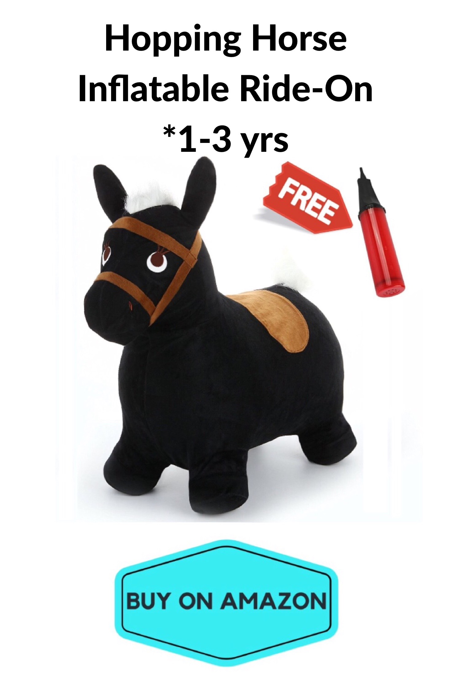 Hopping Horse Inflatable Ride-On