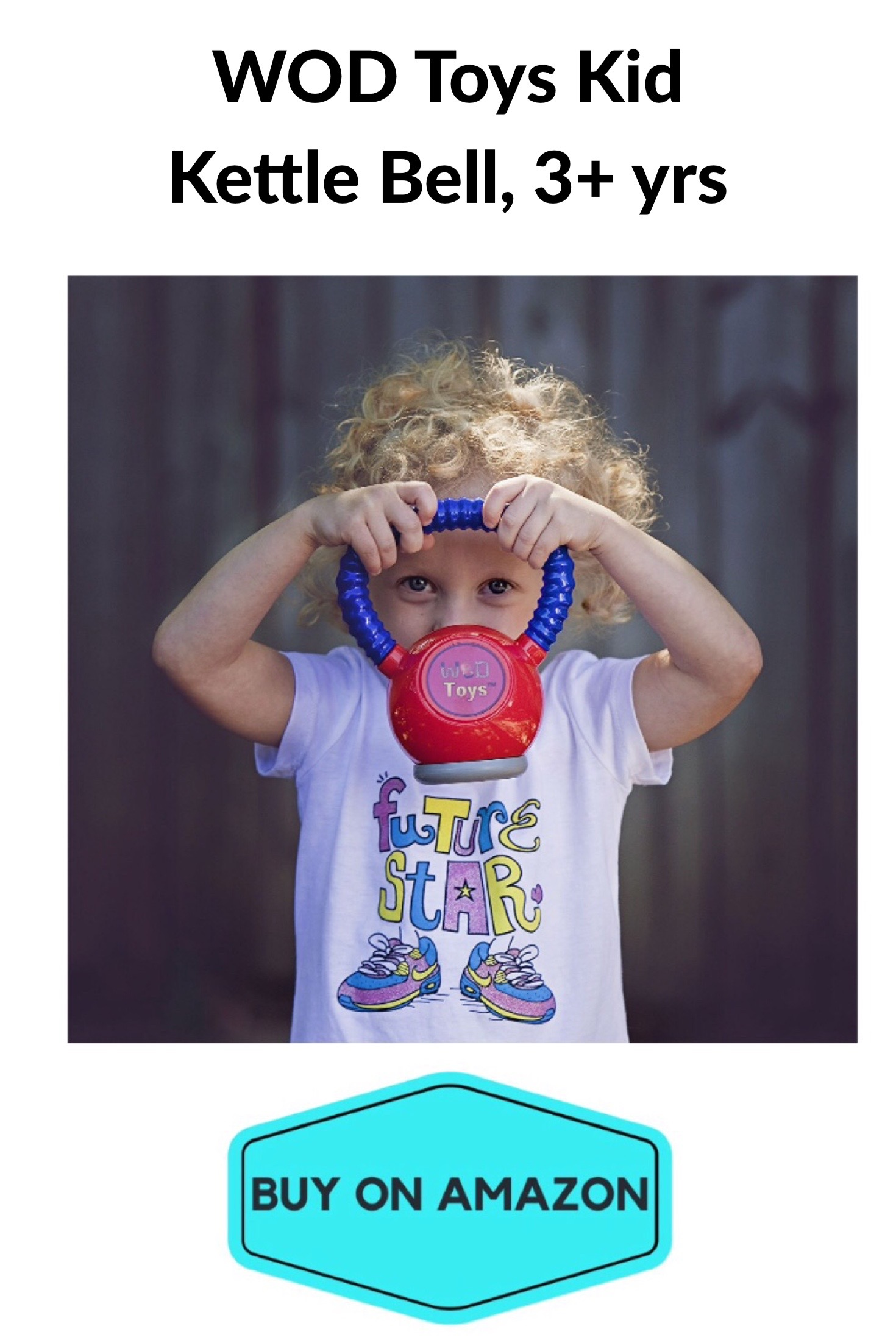 Toy Kettle Bell For Kids