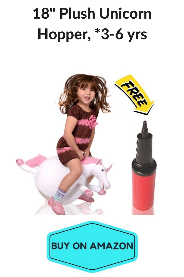 "18"" Plush Unicorn Hopper"