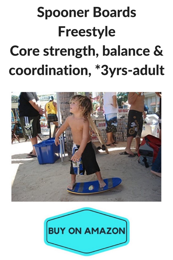 Spooner Boards Freestyle, Ages 3-Adult