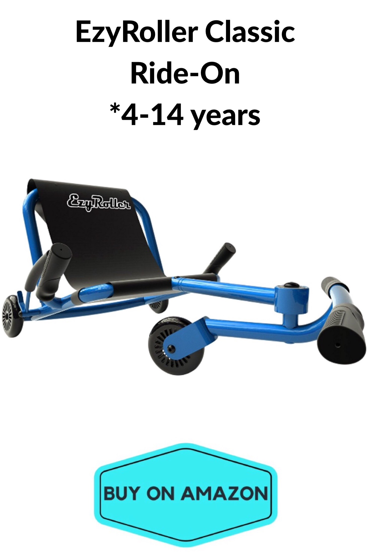 EzyRoller Classic Ride-On, Ages 4-14