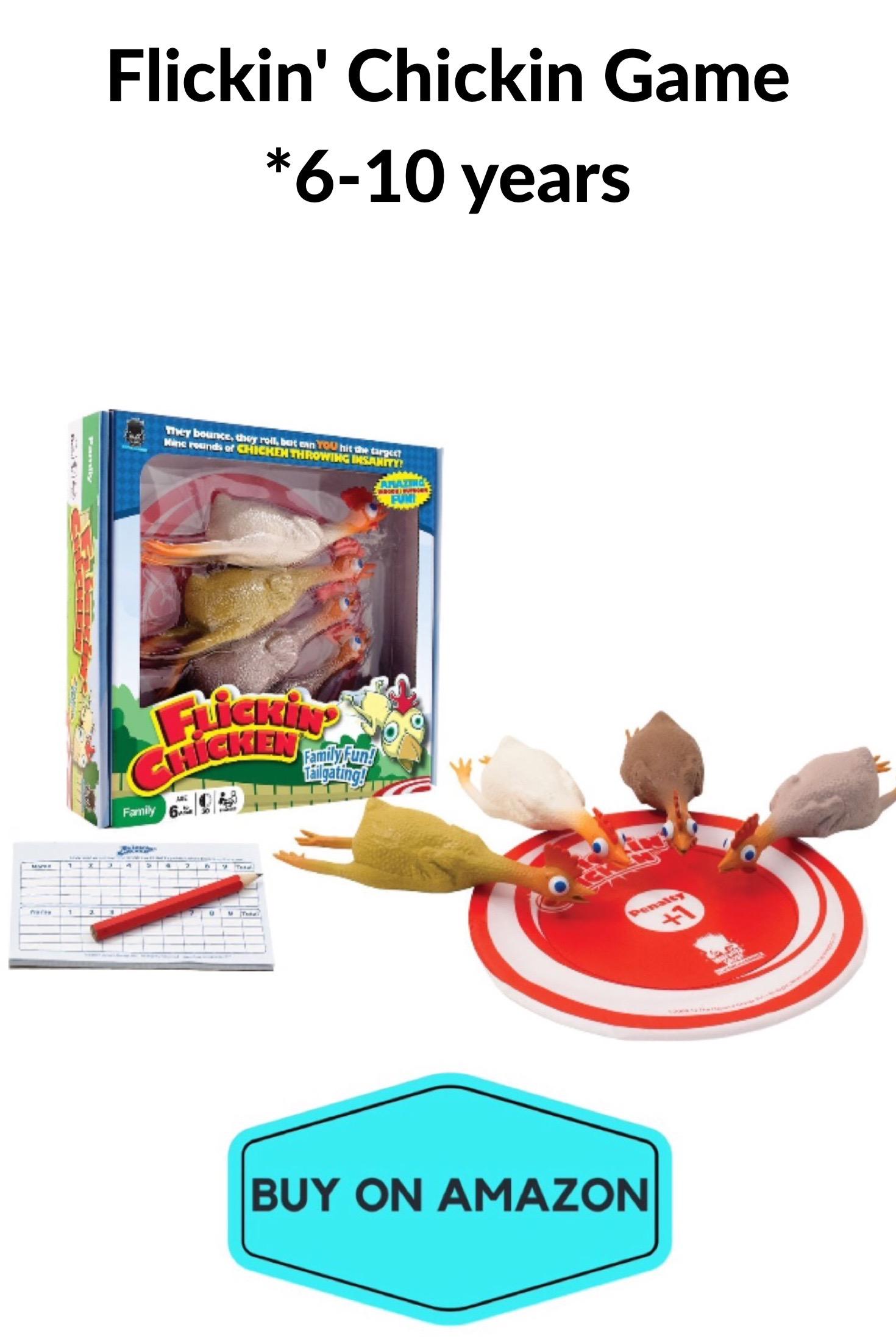 Flickin' Chicken Game, Ages 6-10