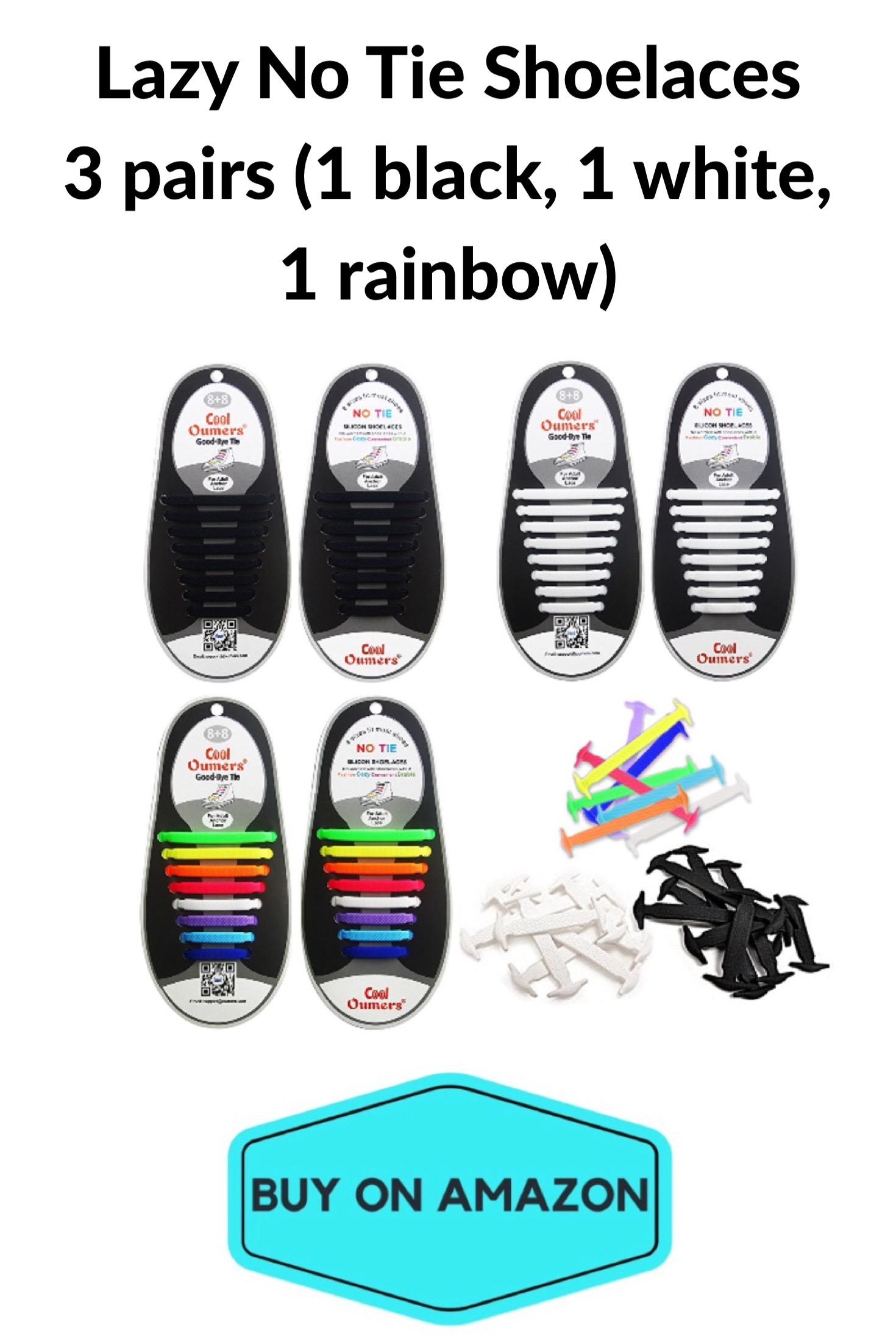 Lazy No-Tie Shoelaces