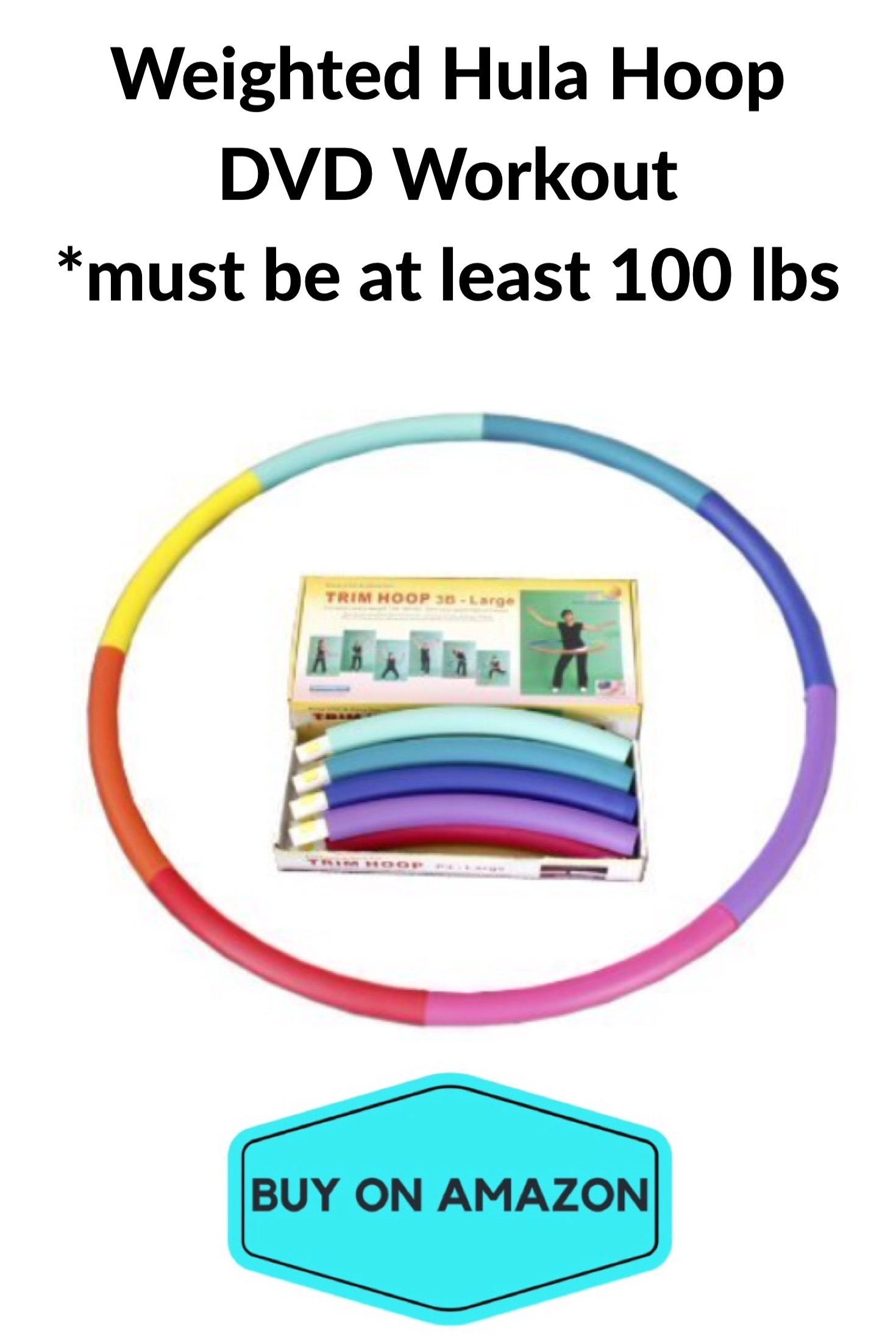 Weighted Hula Hoop DVD Workout