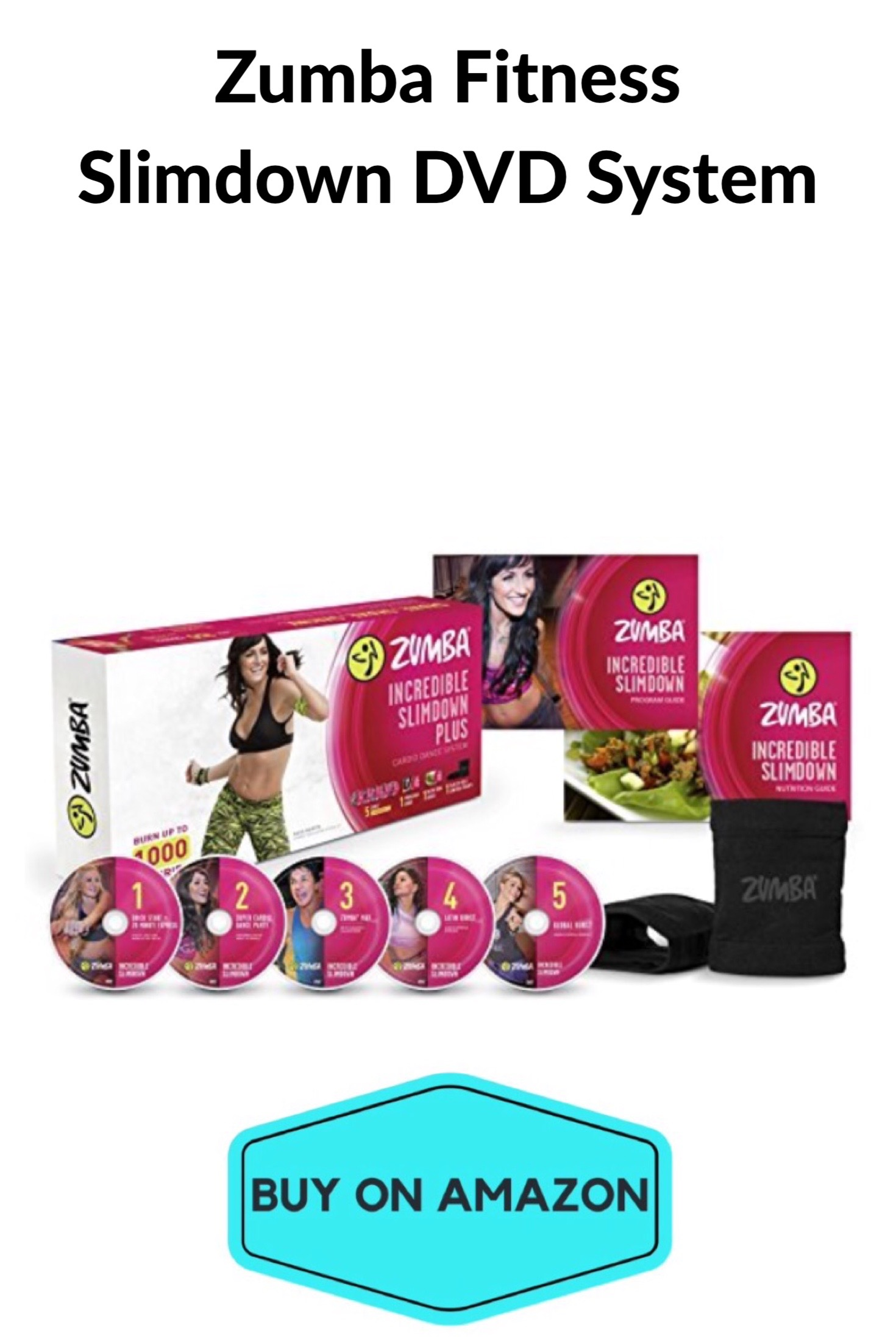 Zumba Fitness Slimdown DVD Set