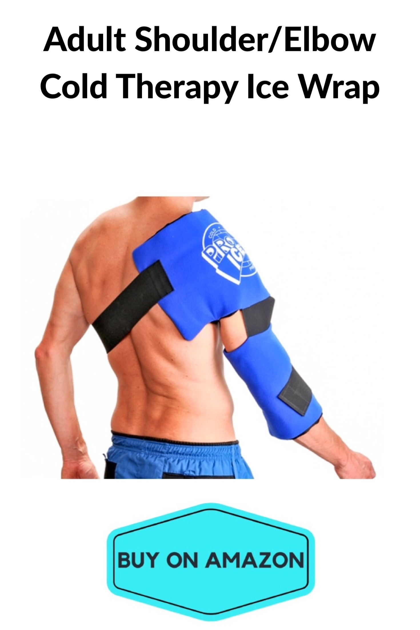 Adult Shoulder/Elbow Cold Therapy Ice Wrap