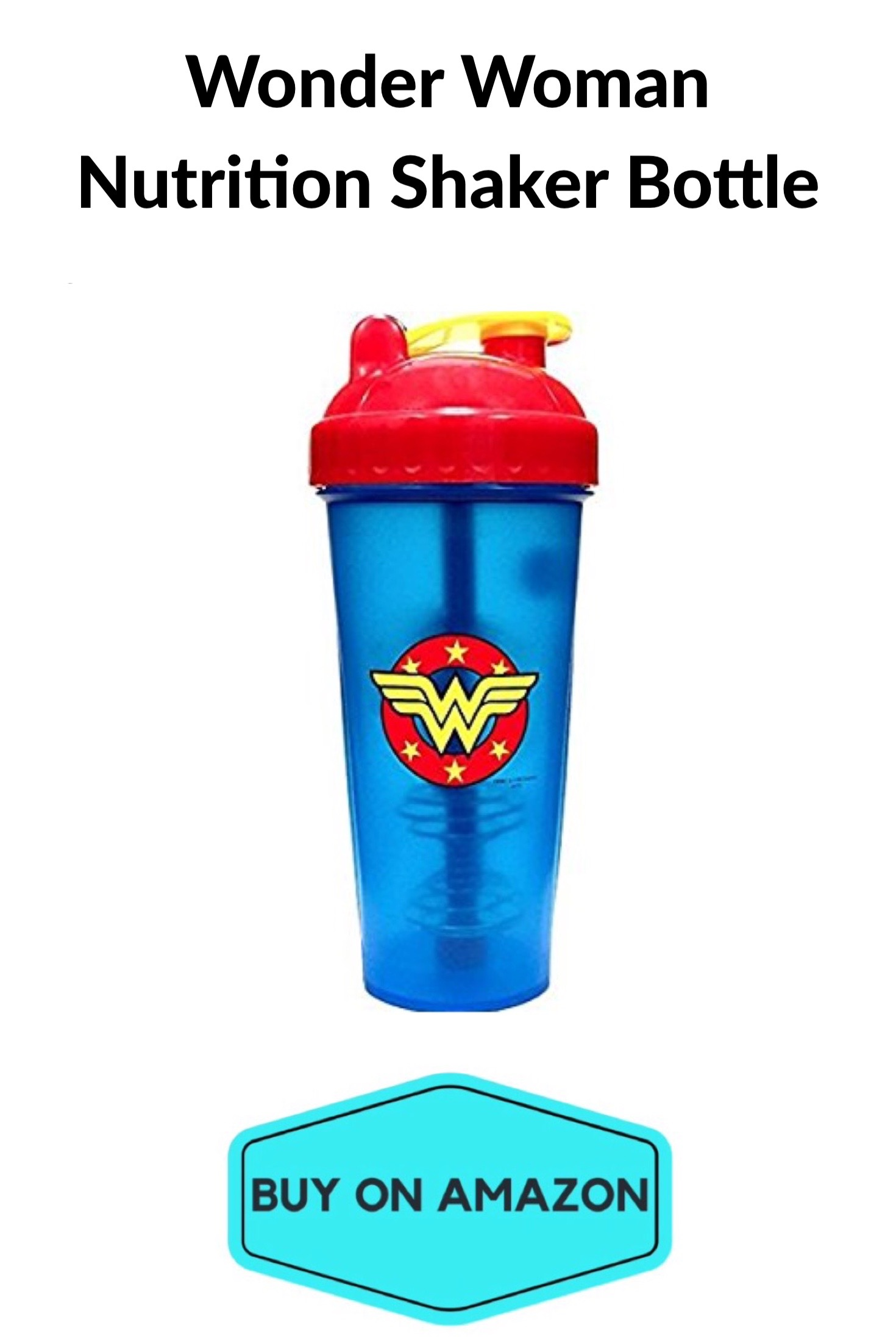 Wonder Woman Nutrition Shaker Bottle
