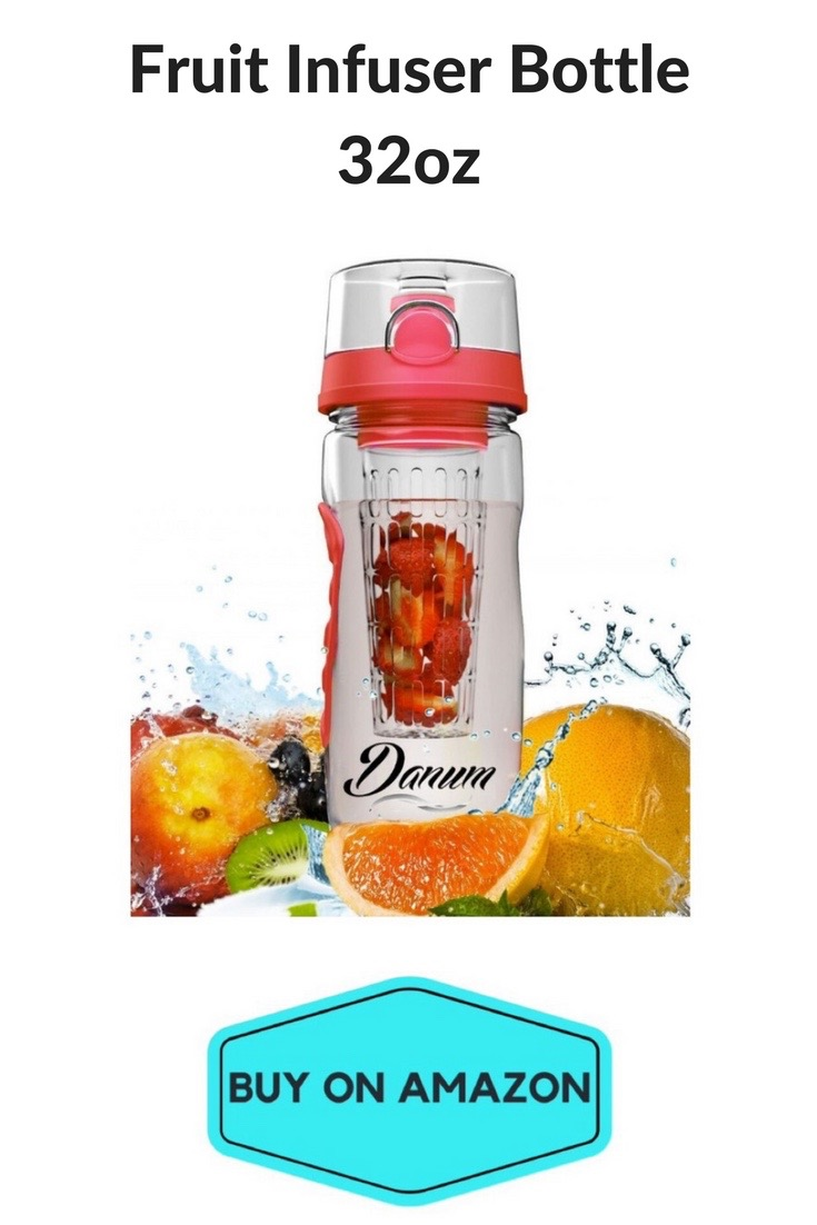 Fruit Infuser Bottle, 32oz
