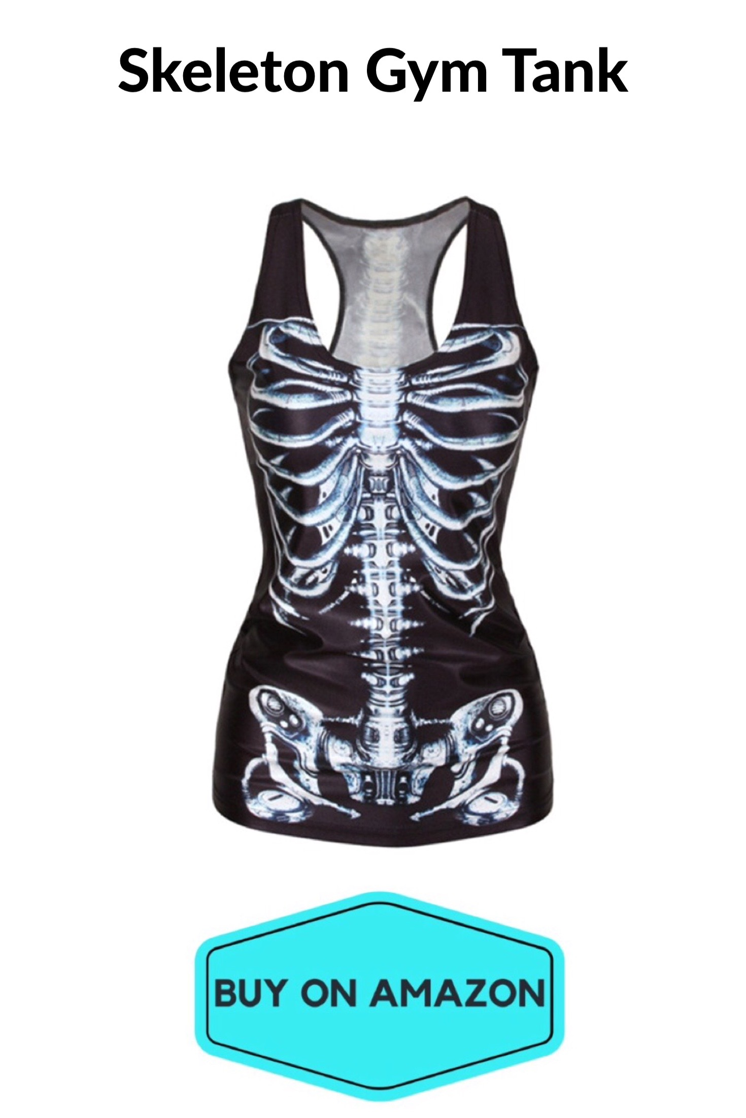 Skeleton Gym Tank