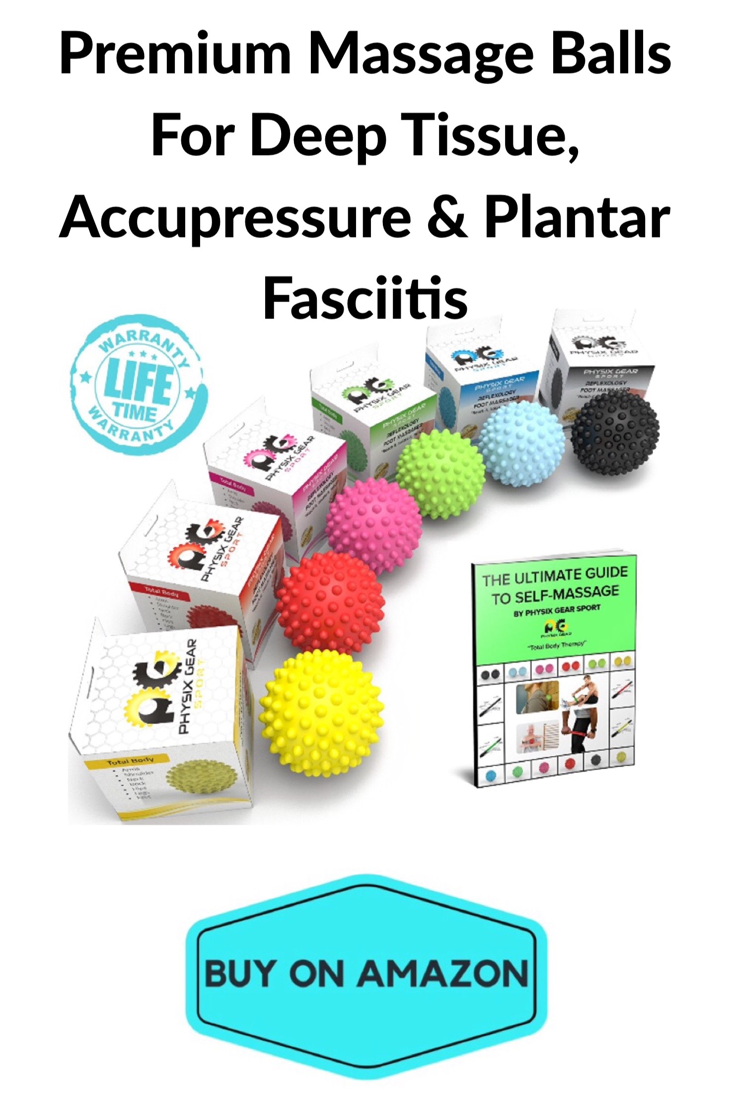 Premium Massage Ball Set For Deep Tissue