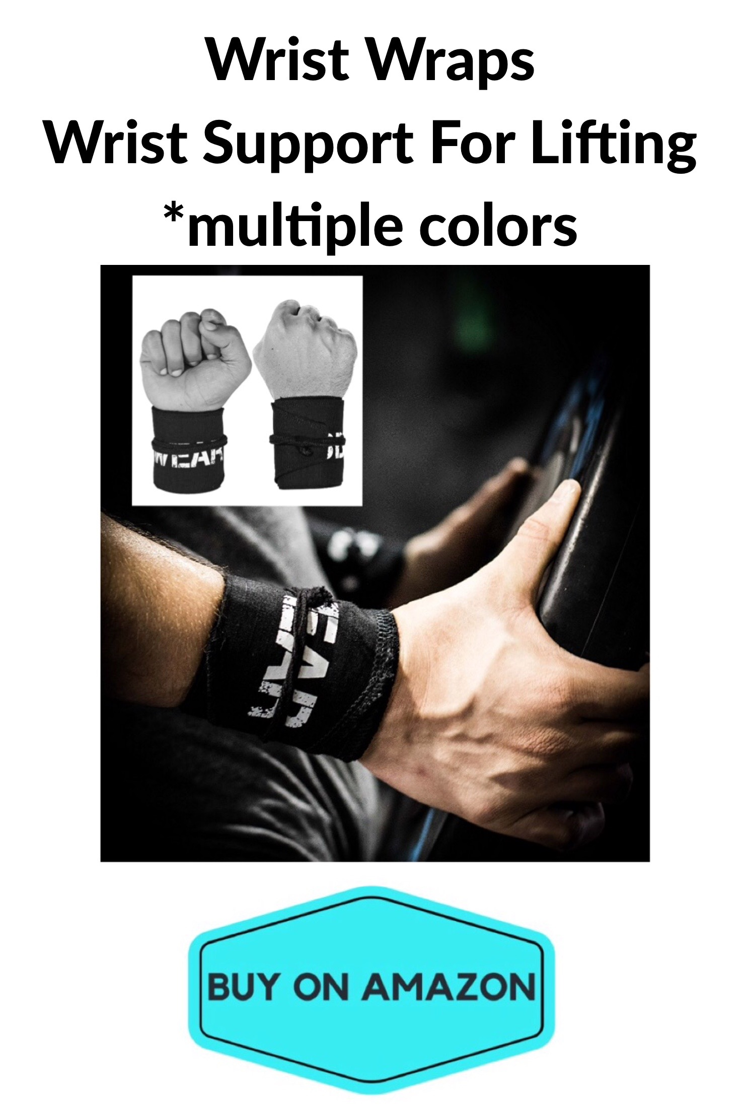 Wrist Wraps For Weight Lifting