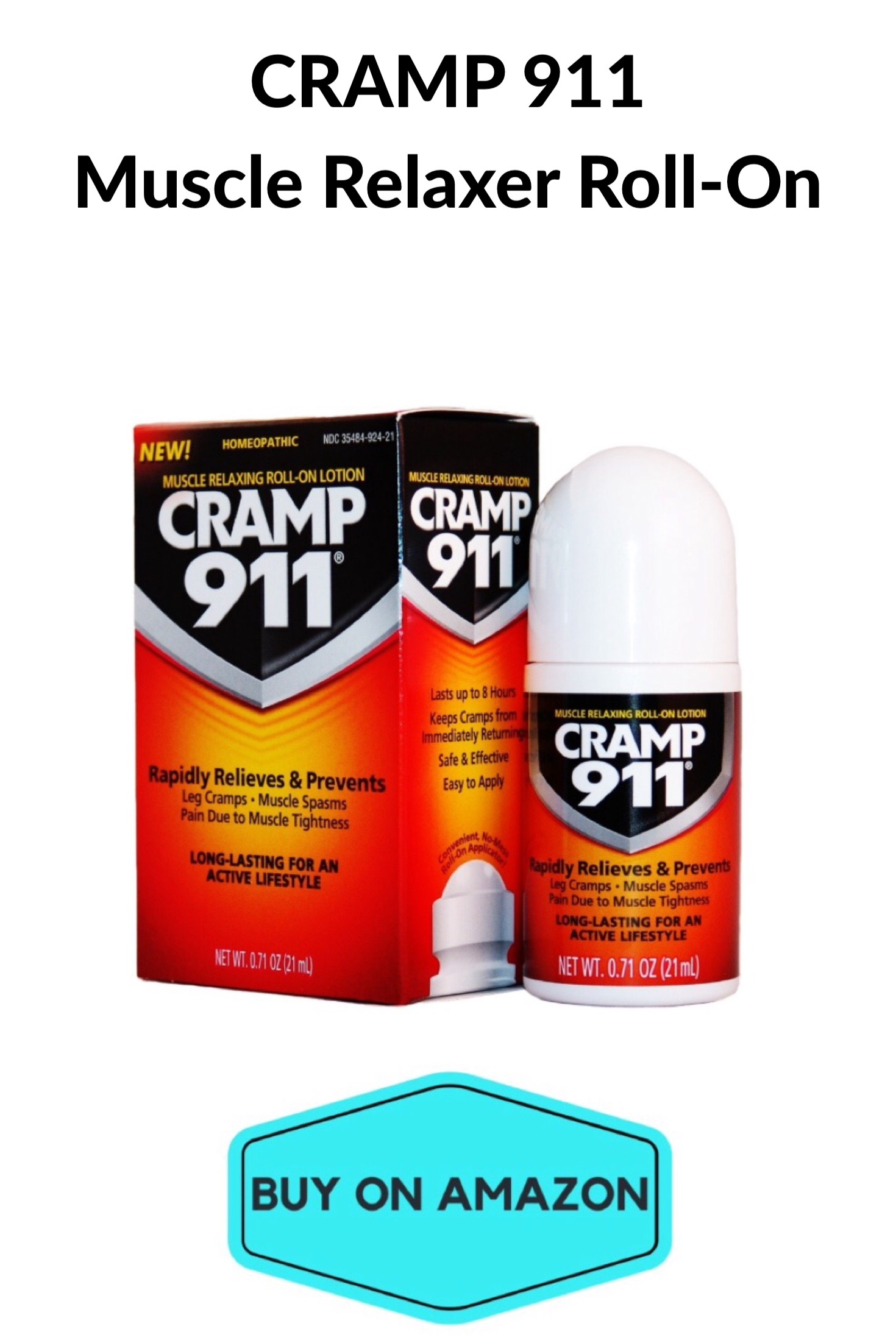 CRAMP 911 Muscle Relaxer Roll-On