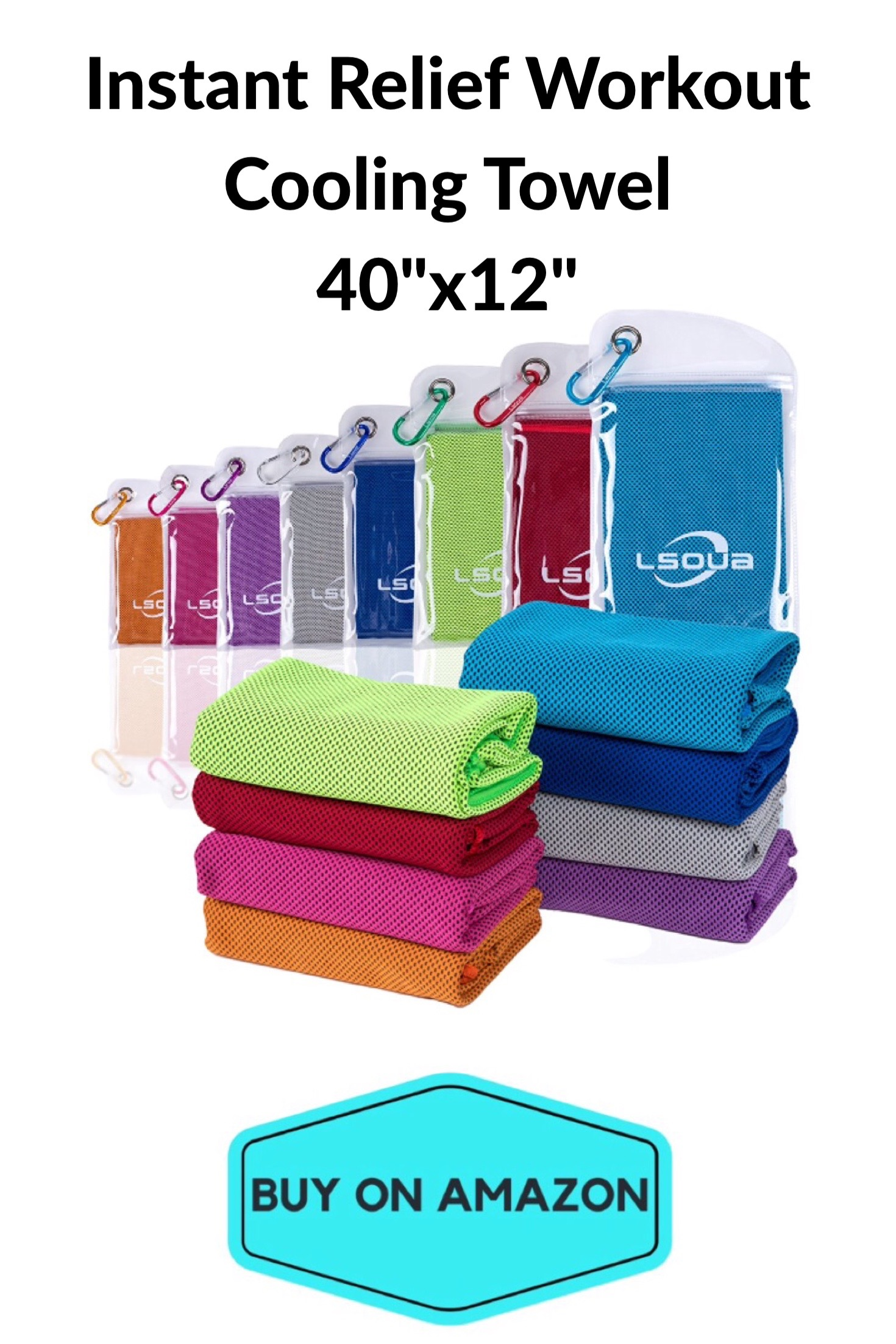 Instant Relief Workout Cooling Towel