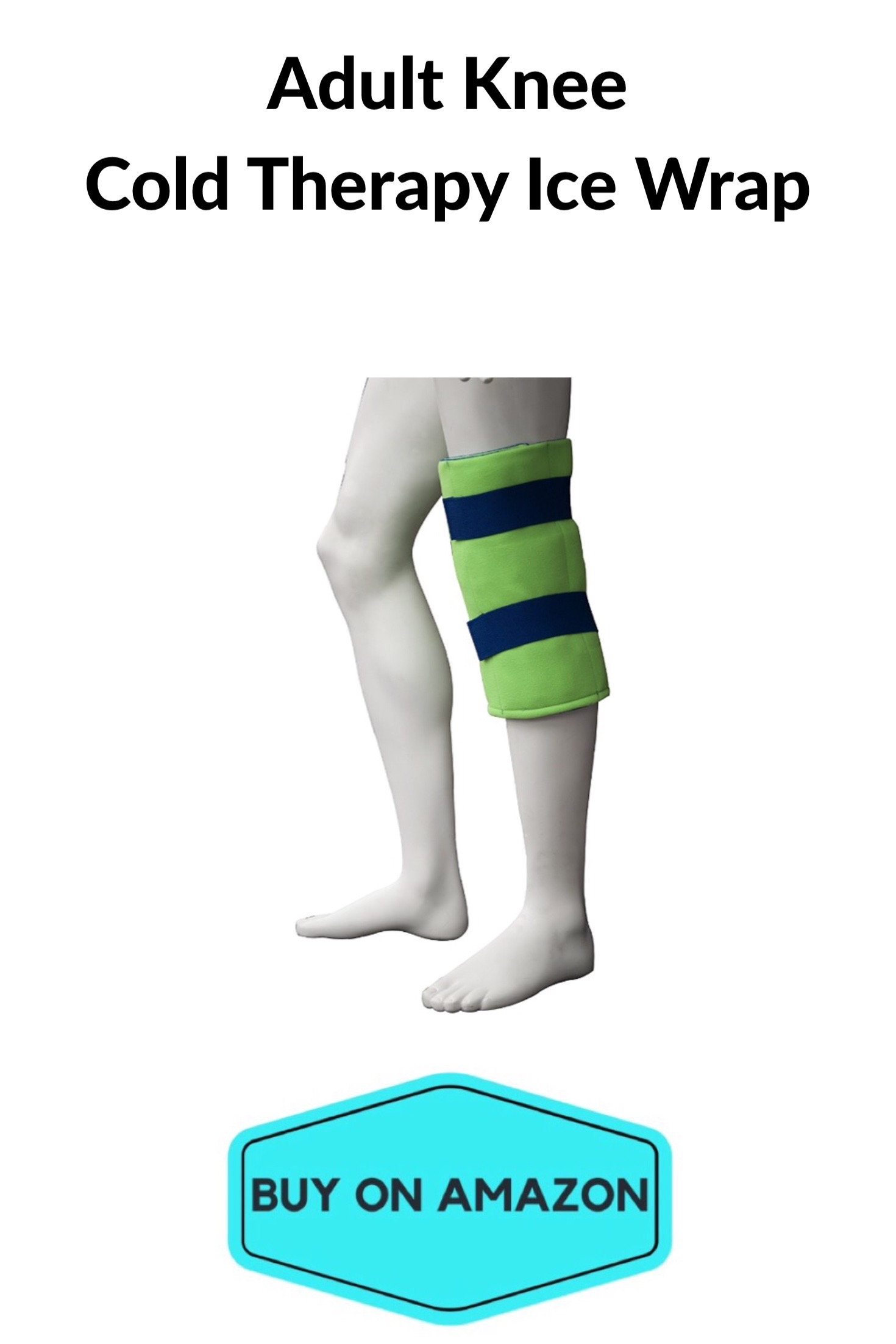Knee Cold Therapy Ice Wrap