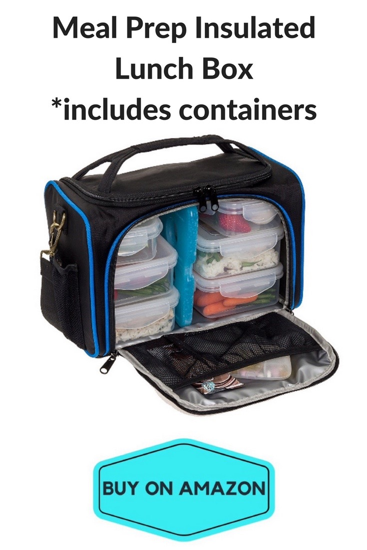 Meal Prep Cooler/Lunch Bag