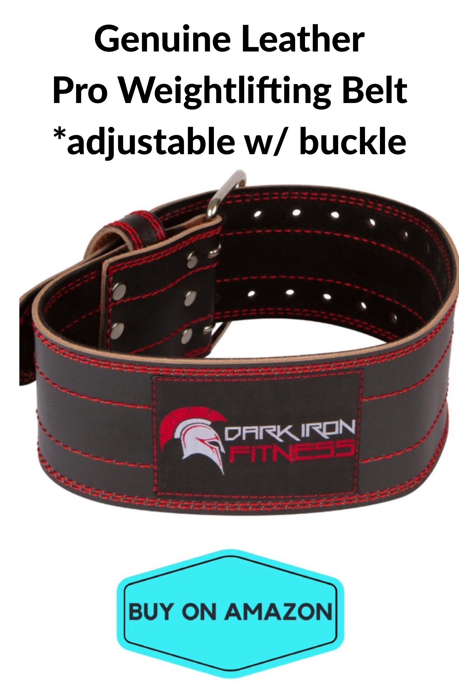Genuine Leather Pro Weightlifting Belt