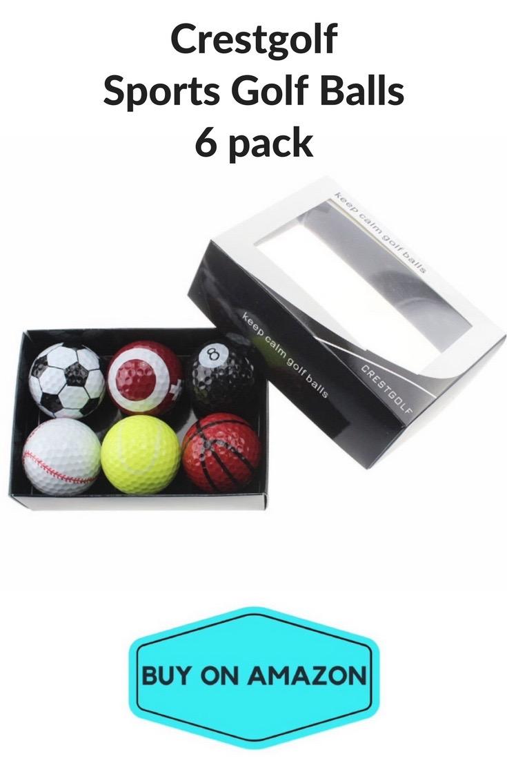 Sports Golf Balls, 6 pack