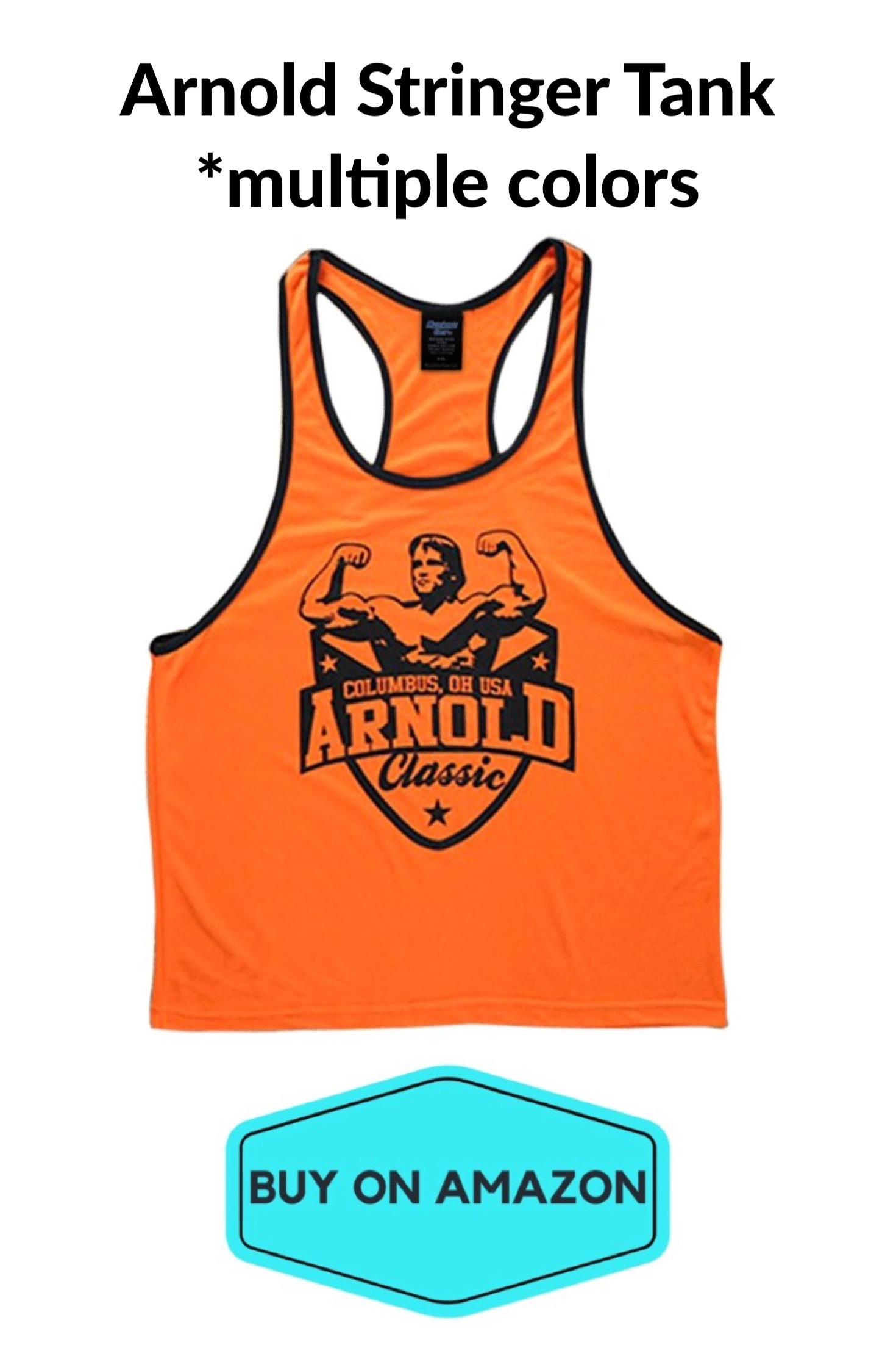 Arnold Schwarzenegger Stringer Gym Tank