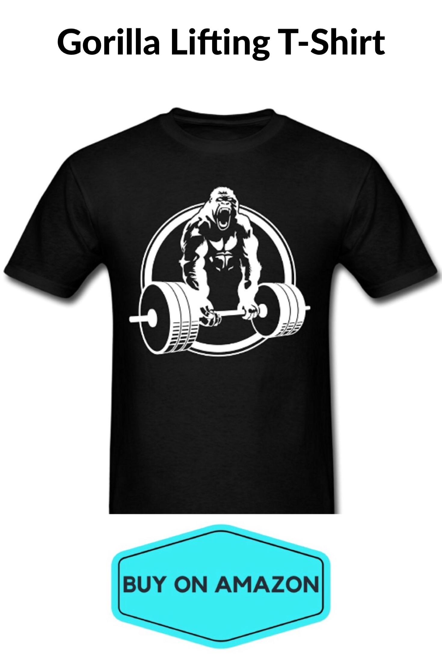 Gorilla Lifting T-Shirt