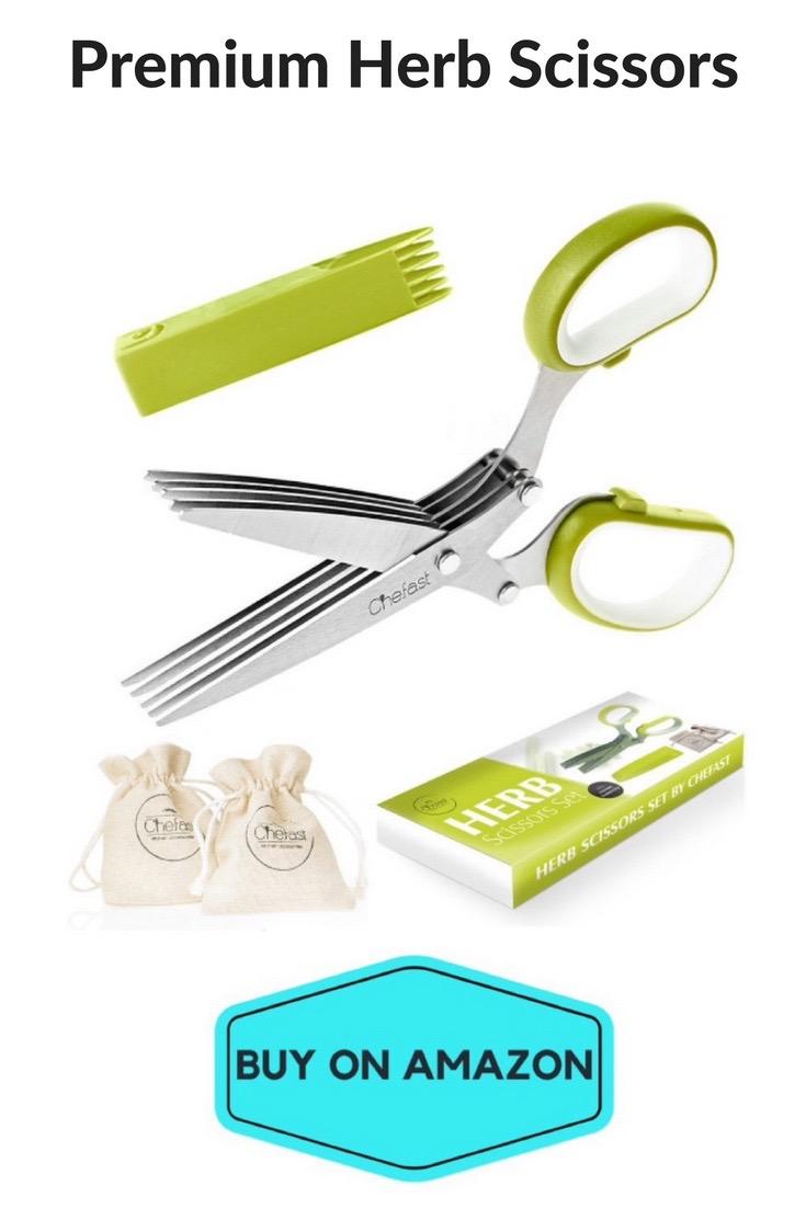 Premium Herb Scissors
