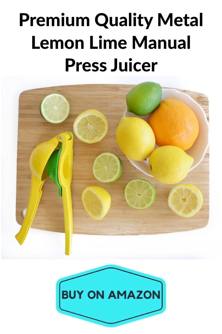Premium Metal Lemon Lime Manual Press Juicer