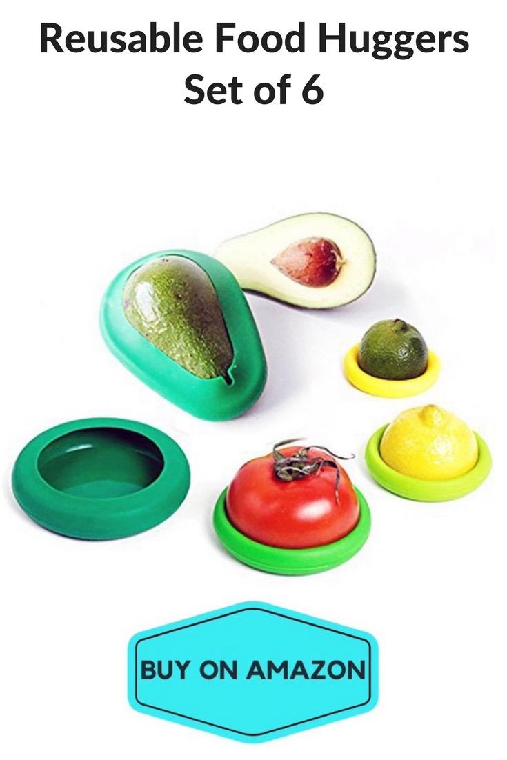 Reusable Food Huggers, Set of 6