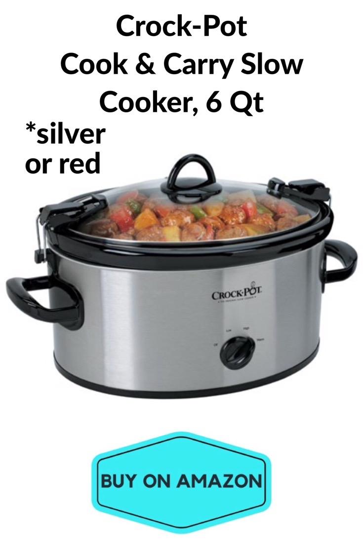 Crock-Pot Cook & Carry Slow Cooker, 6 Qt