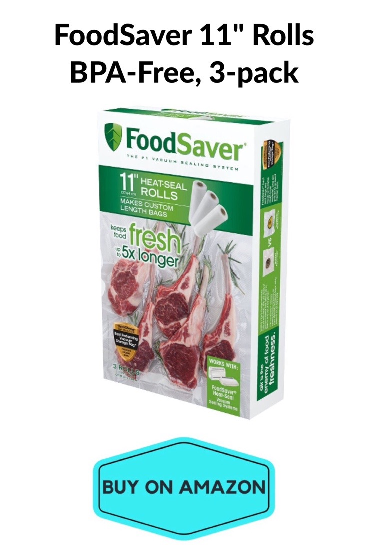 """FoodSaver 11"""" Rolls, BPA-Free, 3 pack"""