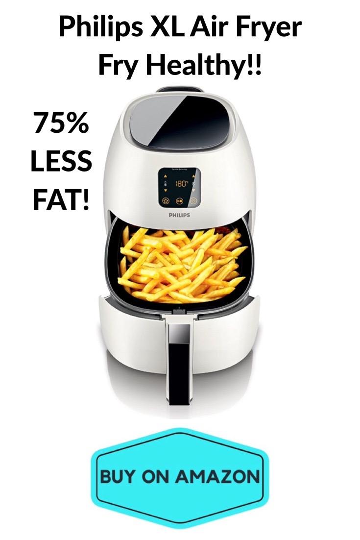 Philips XL Air Fryer: 75% Less Fat