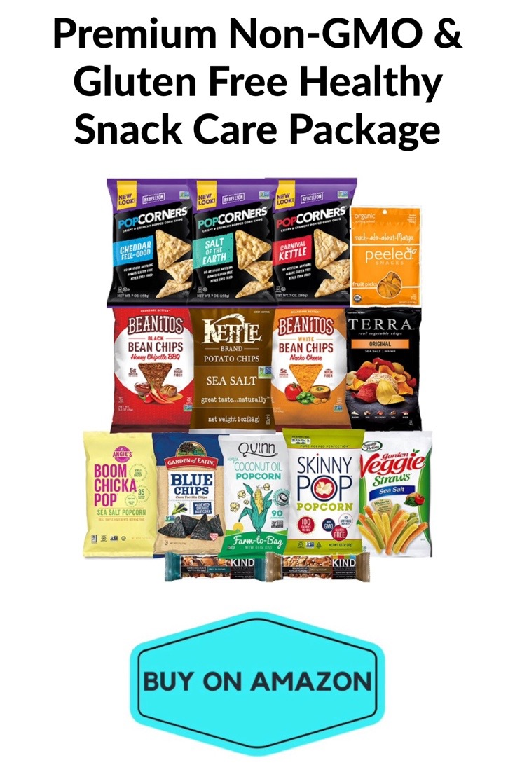 Premium Non-GMO & Gluten Free Healthy Snack Care Package