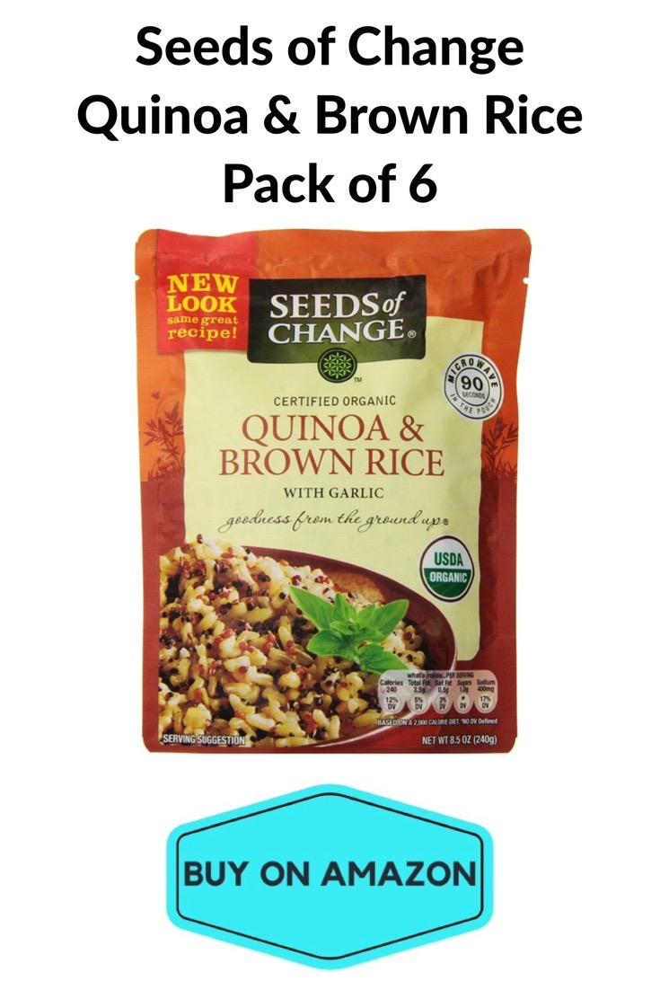 Seeds of Change Quinoa & Brown Rice, 6 pack
