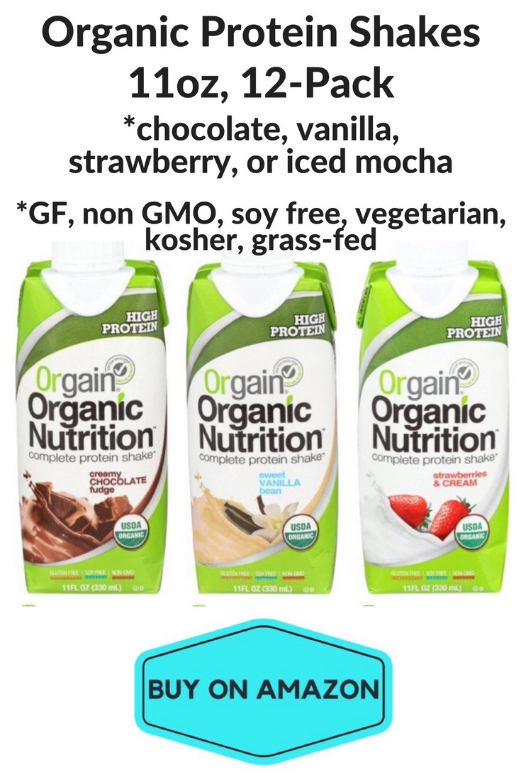 Organic Protein Shakes, 12 pack