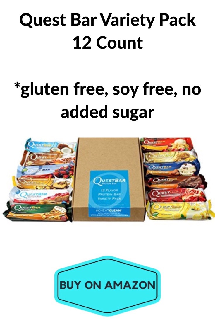 Quest Bar Variety Pack, 12 count