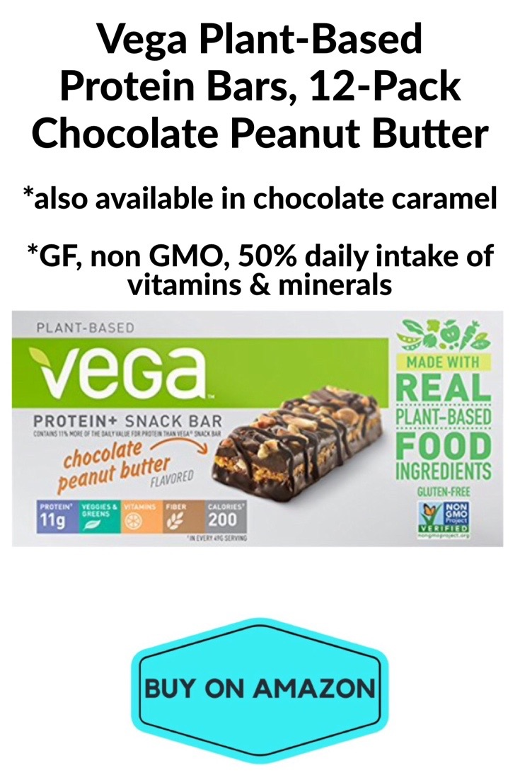 Vega Plant-Based Protein Bars, Chocolate Peanut Butter, 12 pack