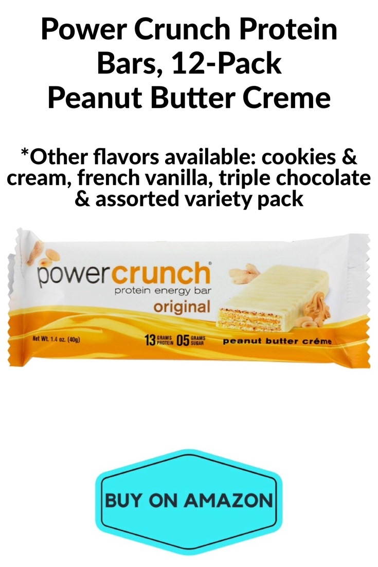 Power Crunch Protein Bars, Peanut Butter Creme, 12 pack
