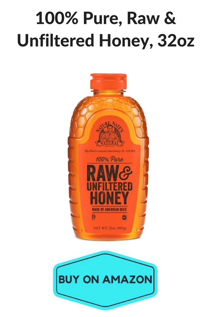 100% Pure Raw & Unfiltered Honey, 32 oz