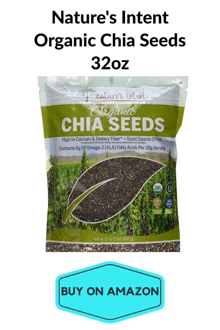 Nature's Intent Organic Chia Seeds, 32 oz