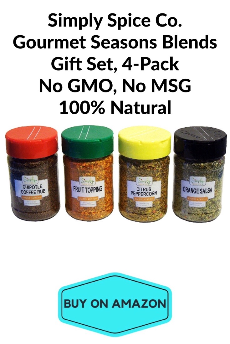 Simply Spice Co. Gourmet Seasons Blends Gift Set, 4 pack