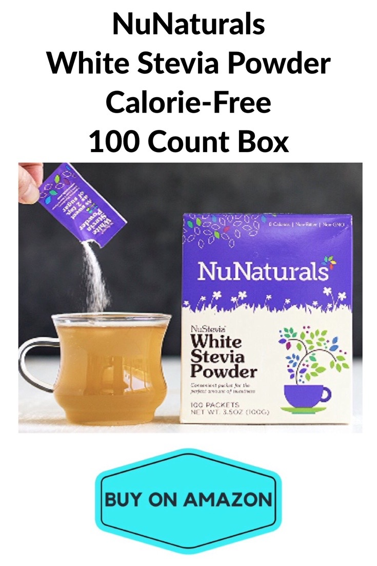 NuNaturals White Stevia Packets, 100 count